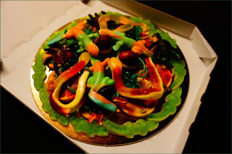 jungle candy pizza