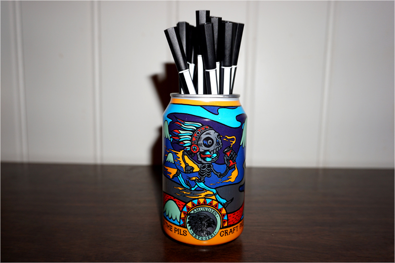 How to make a simple pencil holder