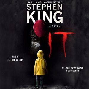 Stephen King's IT, horror audio book