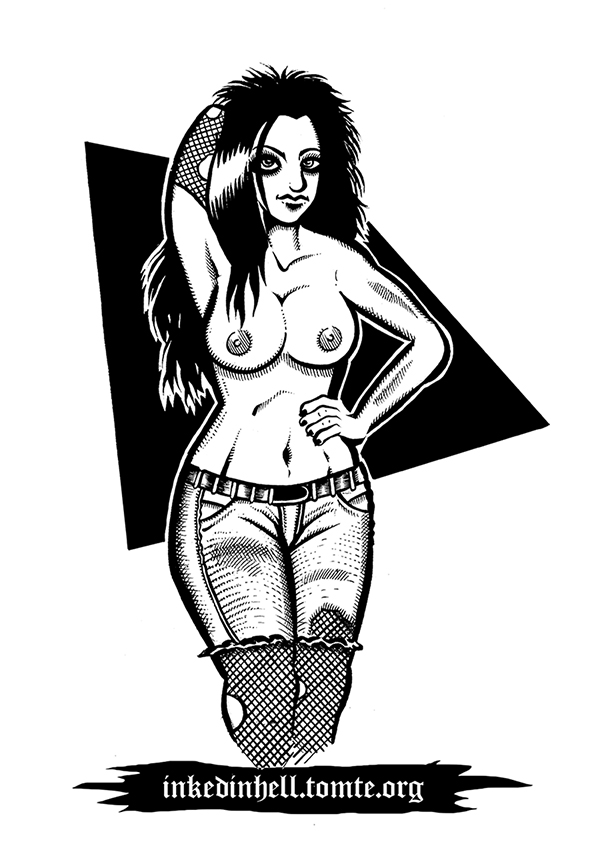 Pinup Drawing