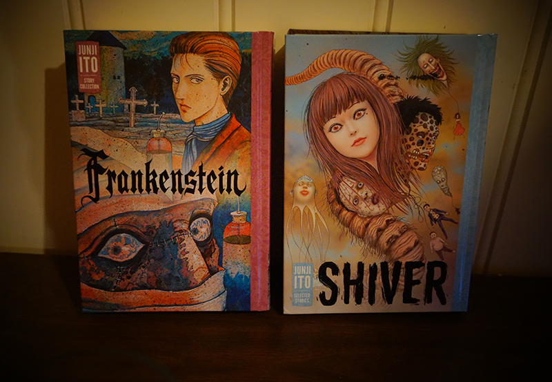 Frankenstein and Shiver by Junji Ito