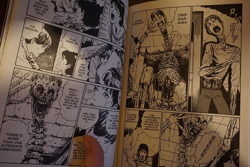The strange tale of Oshikiri, by Junji Ito